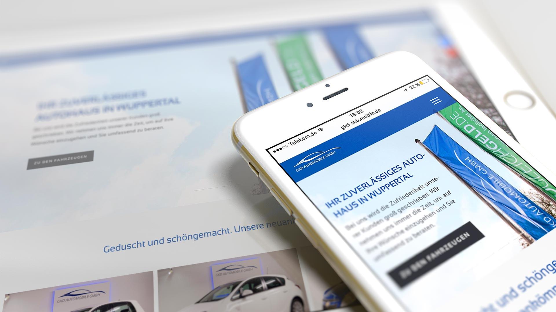 GKD Automobile GmbH Responsive Website
