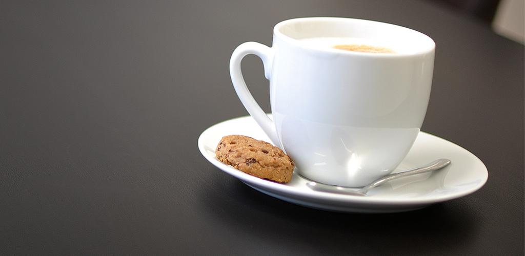 Kaffee bei graf.ik Mediendesign in Wuppertal