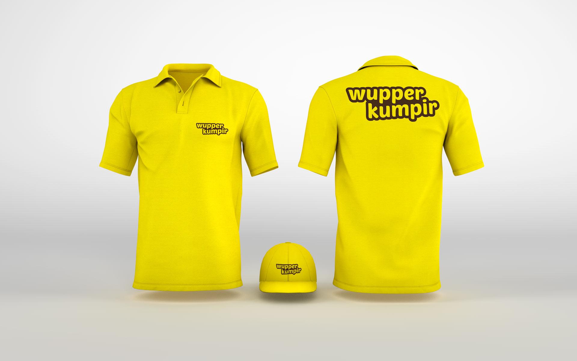 Polo-Shirt und Cap für wupper kumpir