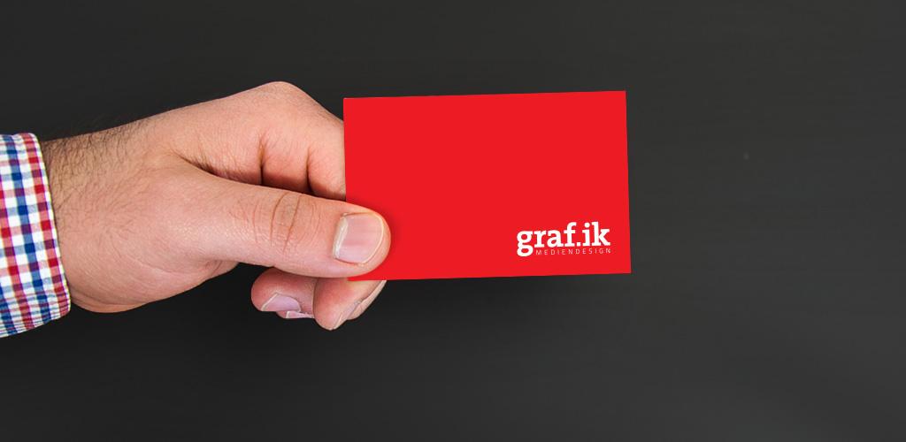 graf.ik Mediendesign Visitenkarten