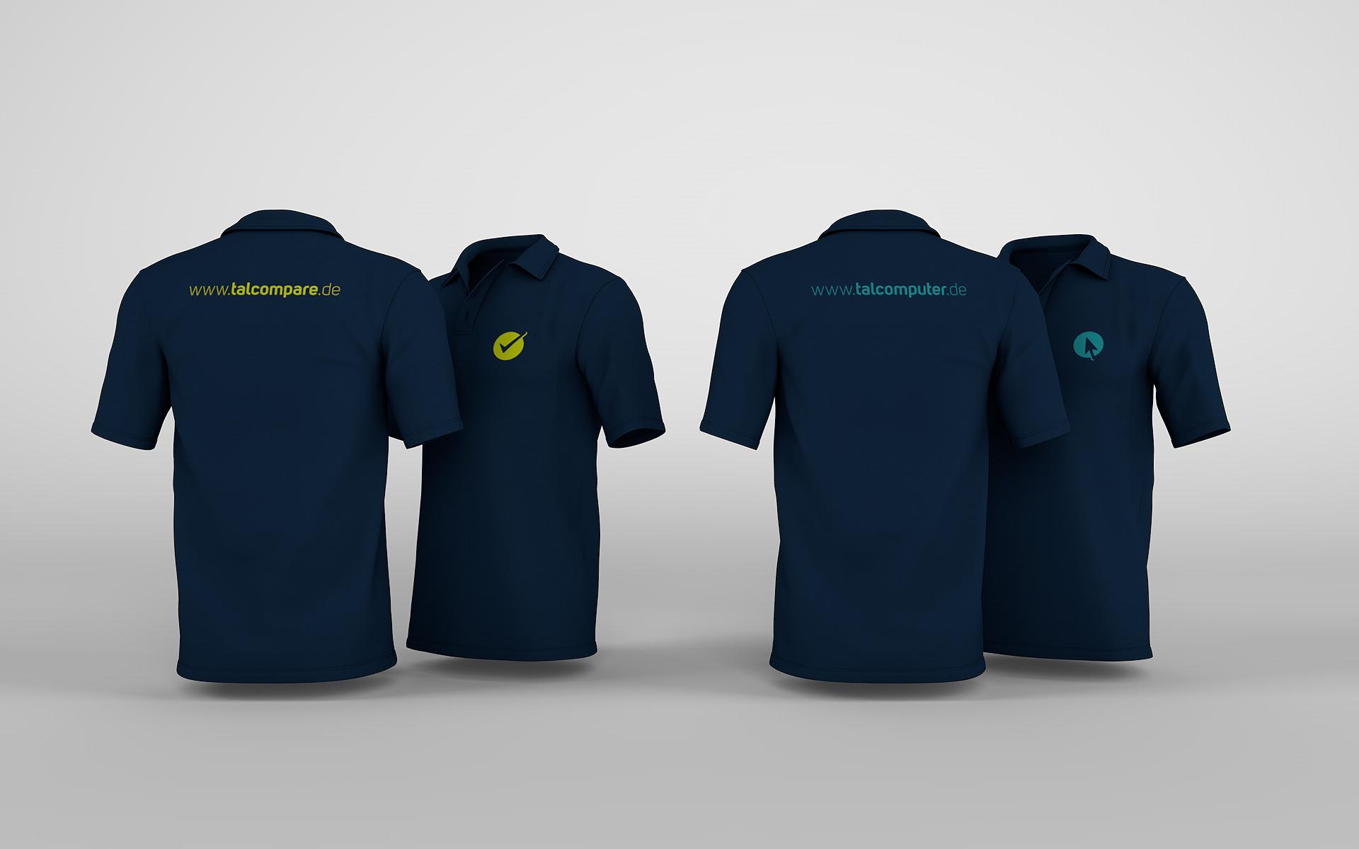 Polo-Shirt für talcomputer und talcompare