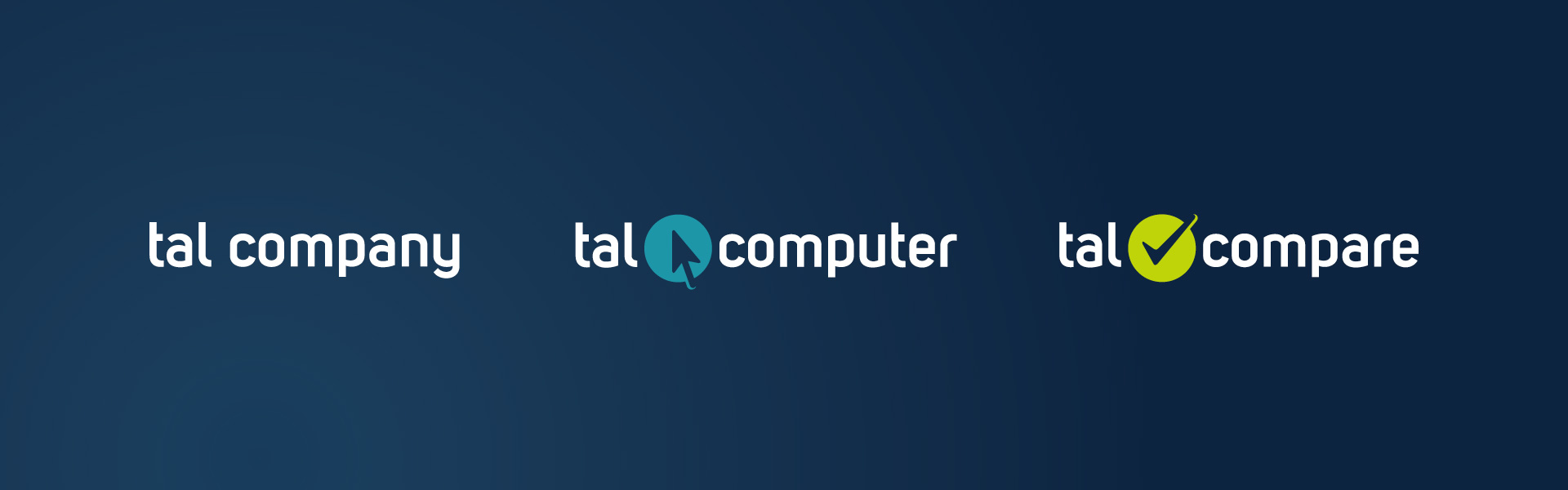 Logo für talcomputer und talcompare von graf.ik Mediendesign